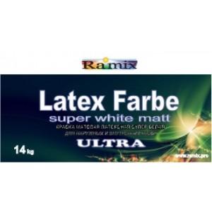Краска латексная ВД-АК-1.18 база «А» LATEX FARBE ULTRA