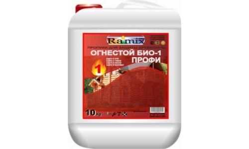 Пропитка огнебиозащитная для древесины ОГНЕСТОЙ БИО-1 ПРОФИ колерованная