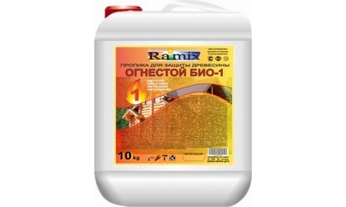 Пропитка огнебиозащитная для древесины ОГНЕСТОЙ БИО-1
