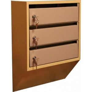 Шкаф почтовый щелевой ШАП (о) - 3