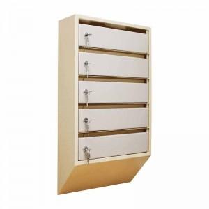 Шкаф почтовый щелевой ШАП (о) - 5