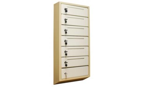 Шкаф почтовый антивандальный ШАП (т) 6 секций с прорезью